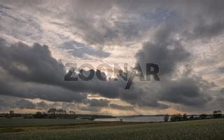 Wolken über der Schlei