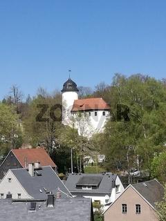 Burg Rabenstein in Chemnitz in Sachsen