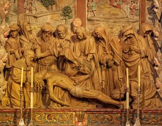 Altar of Mondragon Chapel - Santiago de Compostela