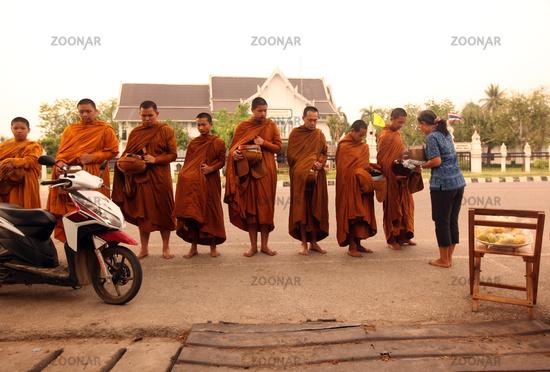 ASIA THAILAND SUKHOTHAI PEOPLE MONK