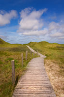 Dunes hiking trail Amrum