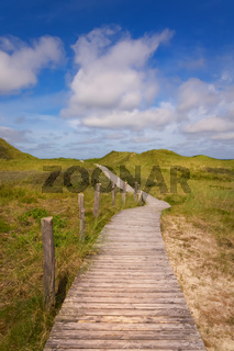 Dünenwanderweg Insel Amrum