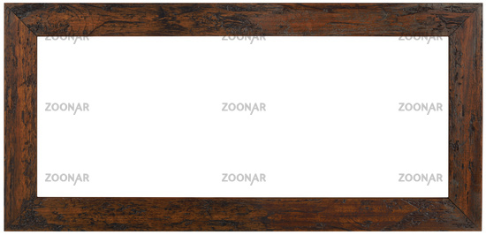 Panoramic Wooden Frame Cutout