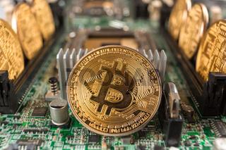 Bitcoin on a technology circuit