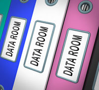 Virtual Data Room Bigdata Computing 3d Rendering