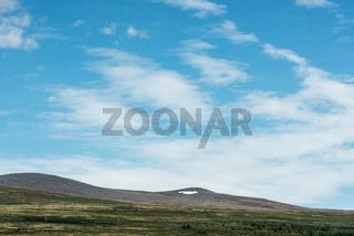 Blick auf die Berge des Dovrefjell