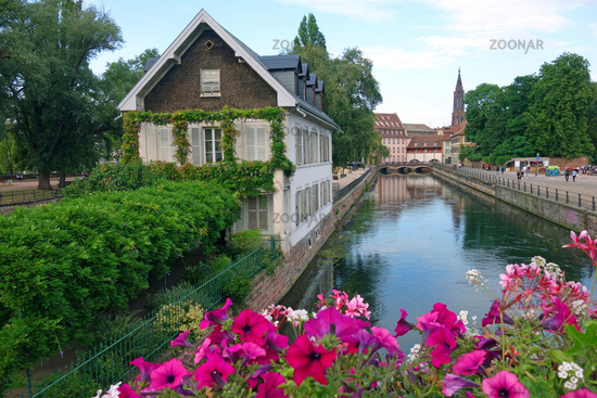 Historic old town of Strasbourg