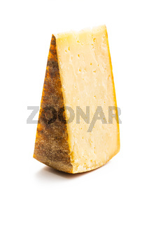 Block of tasty cheese.