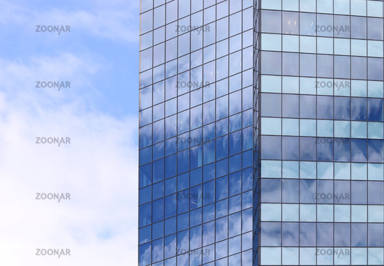 Beautiful photos of modern buildings under blue sky