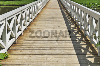 Holzbruecke | wooden bridge