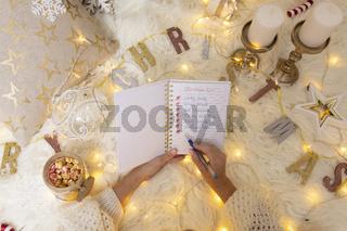 Write your Christmas List