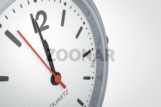 clock with copy space