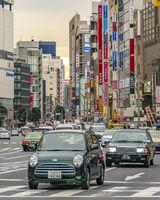 Taito District Urban Scene, Tokyo, Japan
