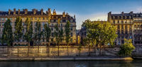 Paris , on the Banks of the River Seine