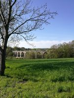 Viaduct in spring