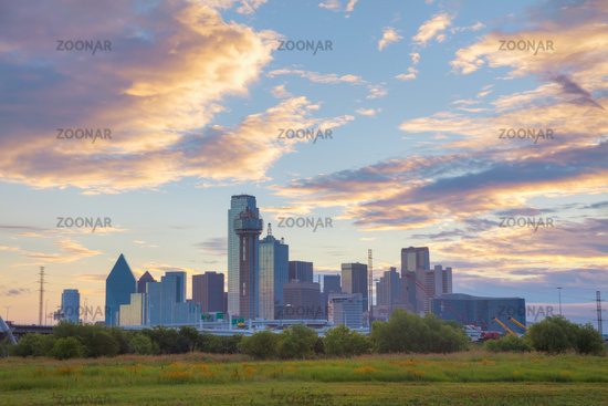 Overview of downtown Dallas