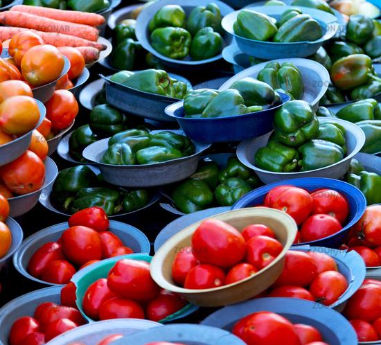 in south africa food market  vegetables   natural  light