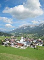 Village of Ellmau am Wilden Kaiser,Tirol,Austria