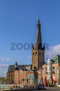 St Lambertus Basilica, Dusseldorf, Germany