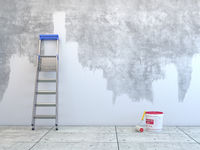3D rendering wall painting