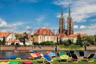 Wroclaw, Stadtidylle