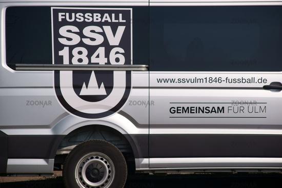 Mannschaftsbus SSV ULM  1846