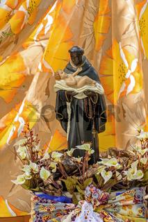 Saint Benedict's traditional faith and Catholic religion in Brazil