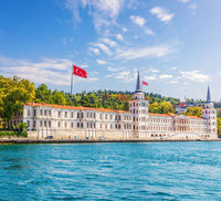 Kuleli Military High School on the Asian  shore of Istanbul, Turkey