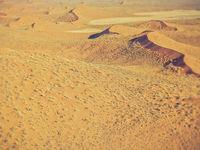 sand dunes in Namibia desert