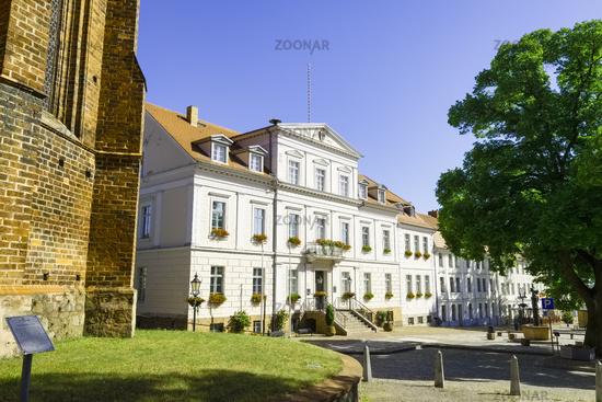 Town Hall Bad Freienwalde, Brandenburg, Germany