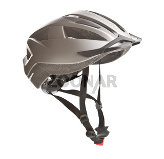 Hard bicycle helmet.