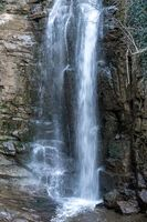 Image of waterfall, close-up. Tbilisi, Georgia
