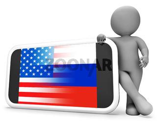 Telephone Hacker Web Espionage Alert 3d Illustration