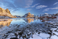 Reine to the sunrise