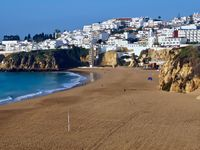 Beautiful cityscape of Albufeira in Portugal