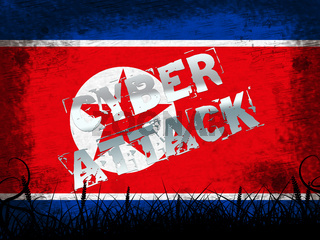 Cyber Attack By North Korean Spy 3d Illustration