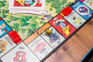 Monopoly Pokémon, 12 August The Netherlands board game