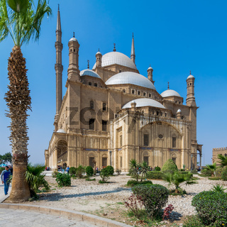 The great Mosque of Muhammad Ali Pasha - Alabaster Mosque - situated in the Citadel of Cairo, Egypt