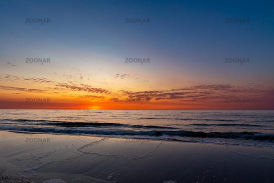 Sunset on Juist
