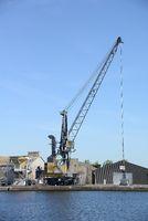 Crane in Saint-Malo