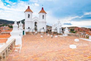 Sucre Bolivia San Felipe Neri temple bell towers