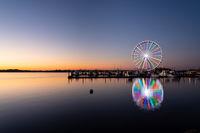 Ferris wheel at National Harbor in Maryland outside Washington DC