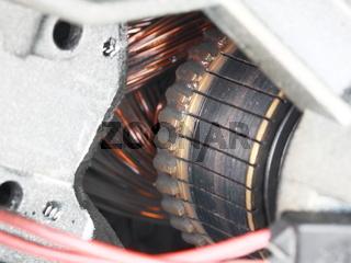 Kommutator eines Elektromotors