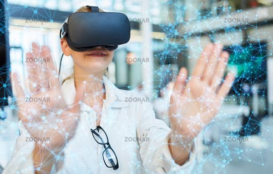 Virtual Reality Netzwerk Simulation in der Medizin