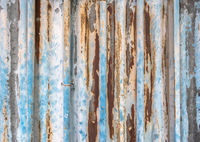 Old corrugated metal texture