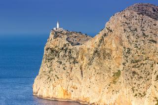 Leuchtturm Cap Formentor Mallorca Textfreiraum Copyspace Meer Balearen Reise Reisen Spanien