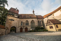 Rothenburg ob der Tauber, St. Wolfgangs Church Germany