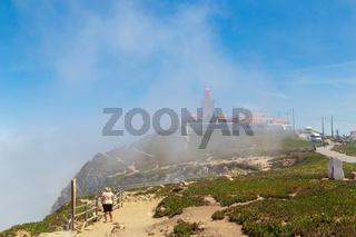 Cabo da Roca summer in the fog
