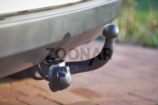 Towbar on a car