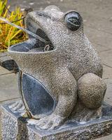 Fog Sculpture at Fountain, Ueno Park, Tokyo, Japan